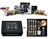 Make Your Gin Geschenkset Geschenkbox Gin zum Selbermachen - 11 Botanicals + Bar Trichter + Anleitung mit Rezept - Kopi Luwak von freilebenden Tieren
