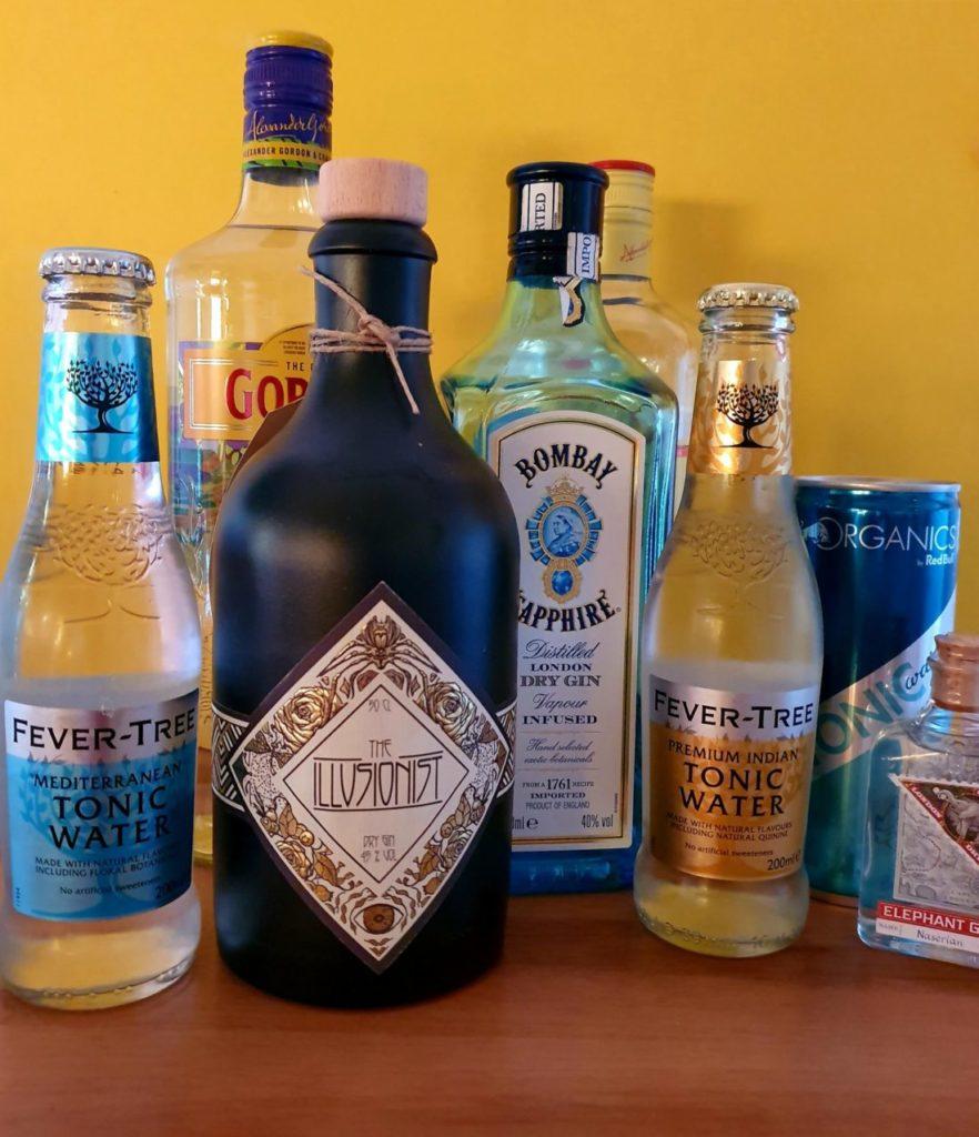 Gin und Tonic Water Flaschen by Gin-kauf.de