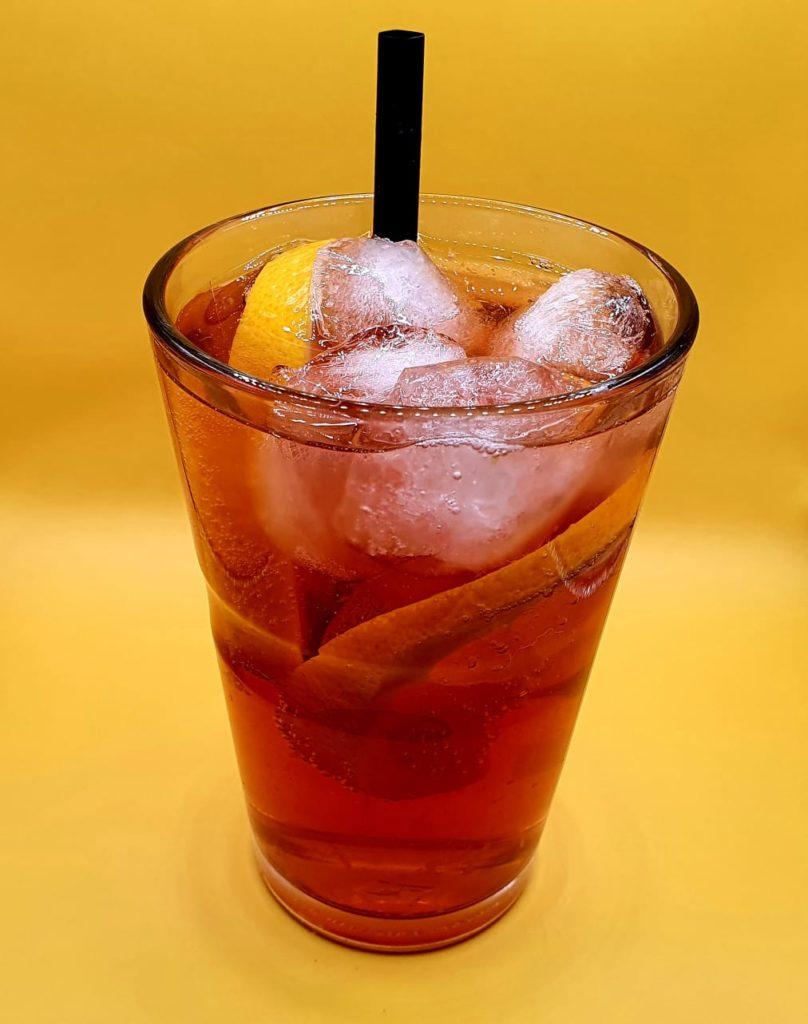 Winter Sloe Gin Tonic
