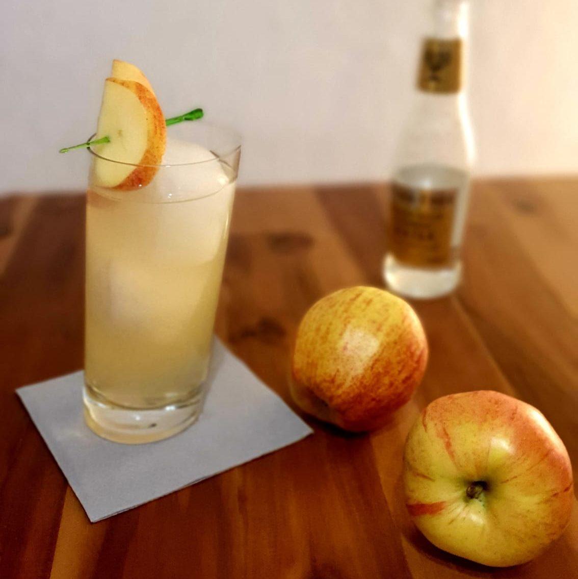 Apfel Gin Tonic eine echte Alternative zum Gin Tonic